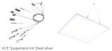 Stahlseilsystem für abgehängte Montage 1,2m